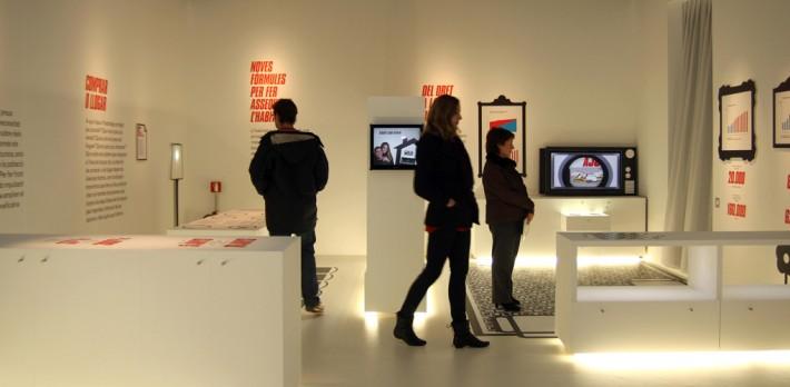 Exposició Barcelona Palau Robert Habitatge