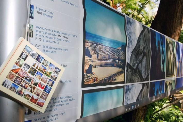Exposició, exposición, exhibition, Barcelona, Palau Robert, Catalunya Experience, Instagram