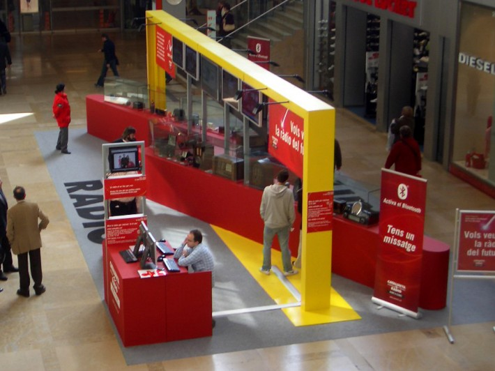 Estand, stand; catalunya ràdio, l'illa, Barcelona