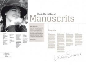 MARIA-MERCÈ MARÇAL. Manuscrits