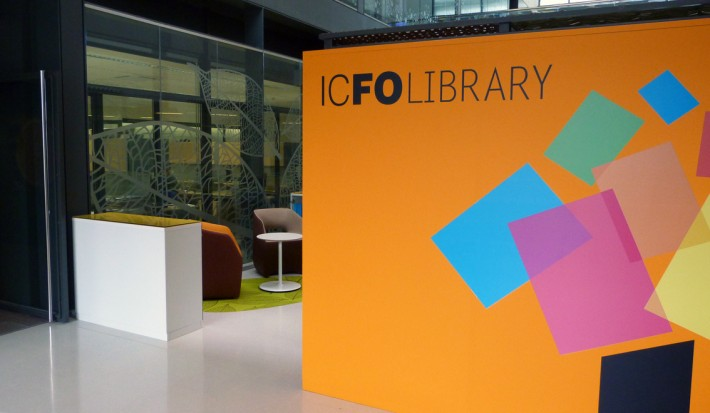 ICFO, The Institute of photonics science, Biblioteca, Library,