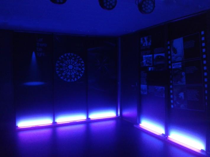 ICFO_ICFOseum_Divulgació científica, divulgación científica, Outreach, lightpainting,