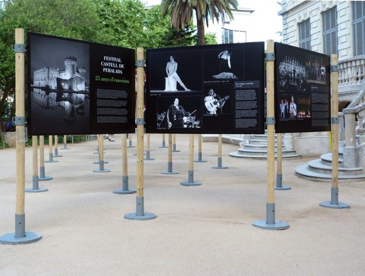 Exposició, exposición, exhibition, Festival Peralada