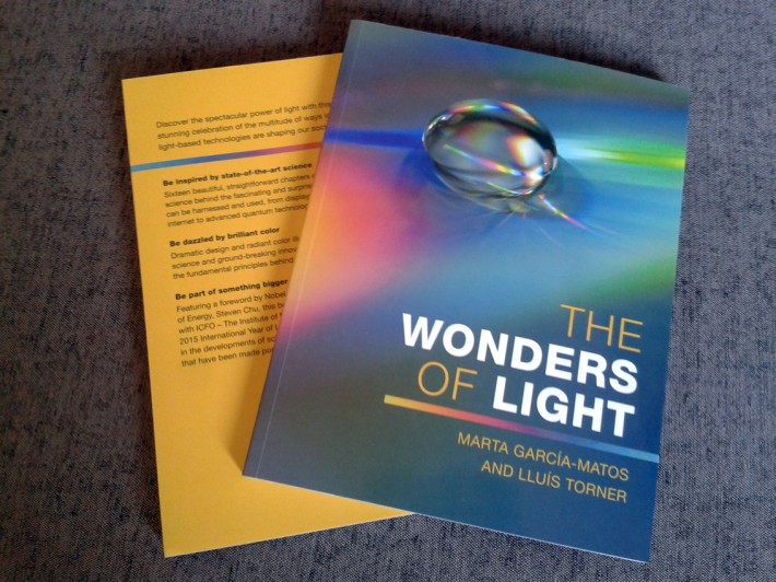 ICFO, Institut de ciències fotòniques, The Institute of Photonic Sciences, Barcelona, The wonders of light, llibre, libro, book, outreach, Cambridge University press