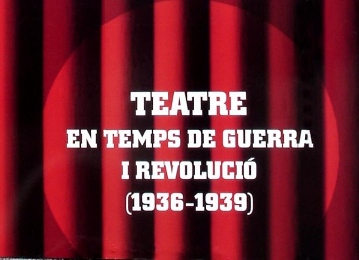 bpdisseny, Maria Rosa Birulés, Exposició, exposición, exhibition, Barcelona, Teatre, Teatro, Theater Guerra Civil, Spanish Civil War,