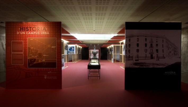 Exposició, exposición, exhibition, Universitat Pompeu Fabra, 20 aniversario,