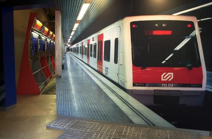 FGC, Ferrocarrils de la Generalitat de Catalunya, exposició, exposición, exhibition, comunicació corporativa, transport públic, transporte público, public transport